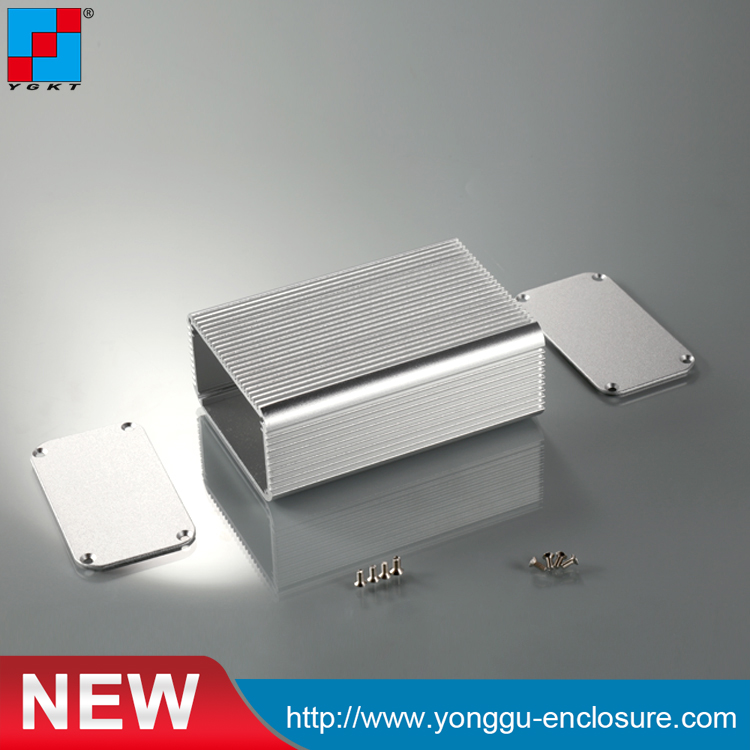 YGK-014 80*45*115/3.15''x1.77''x3.35''mm (wxhxl ) Aluminum electronic diy enclosure equipemnt case