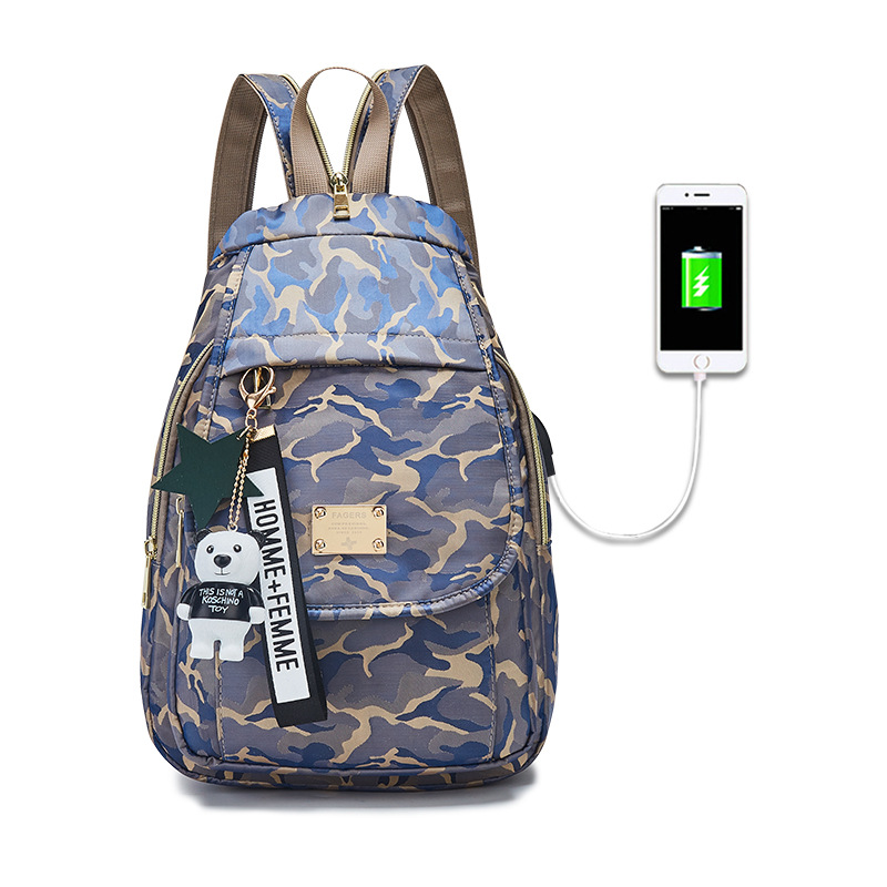 Camouflage Baby Diaper Bag USB Baby Nappy Bag Waterproof Backpack Cute Maternity Bags Baby Care Changing Bag Backpack Hobos new arrive baby diaper bag cute baby nappy bag waterproof backpack maternity bags baby care cute changing bag backpack