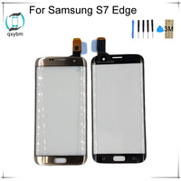 5.5 For Samsung For Galaxy S7 Edge S7edge G935 G935F G9350 Mobile Phone Touch screen Panel Glass Display New Glass Panel NO LCD