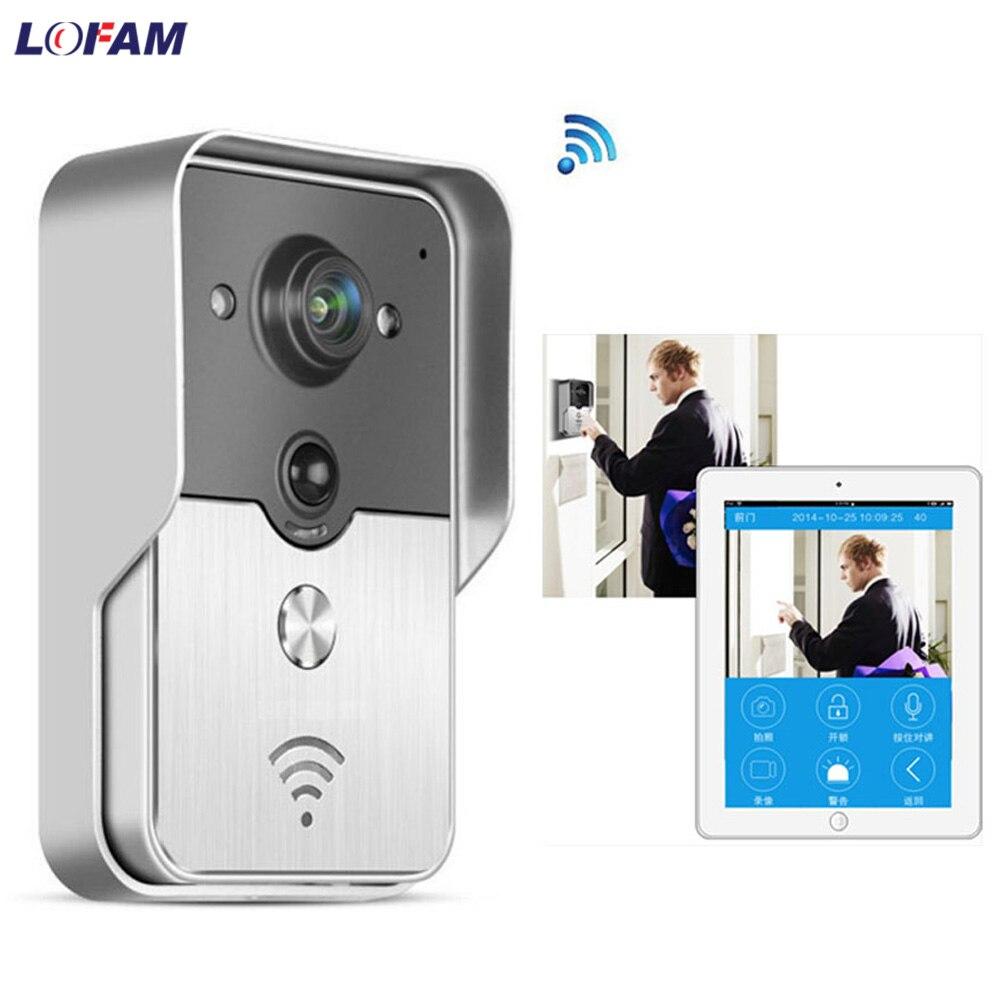 Security & Protection Obliging Lofam Wireless Ip Video Intercom 720p Smart Wi-fi Video Door Phone Door Bell Wifi Doorbell Camera Night Vision Pir Alarm Unlock Consumers First