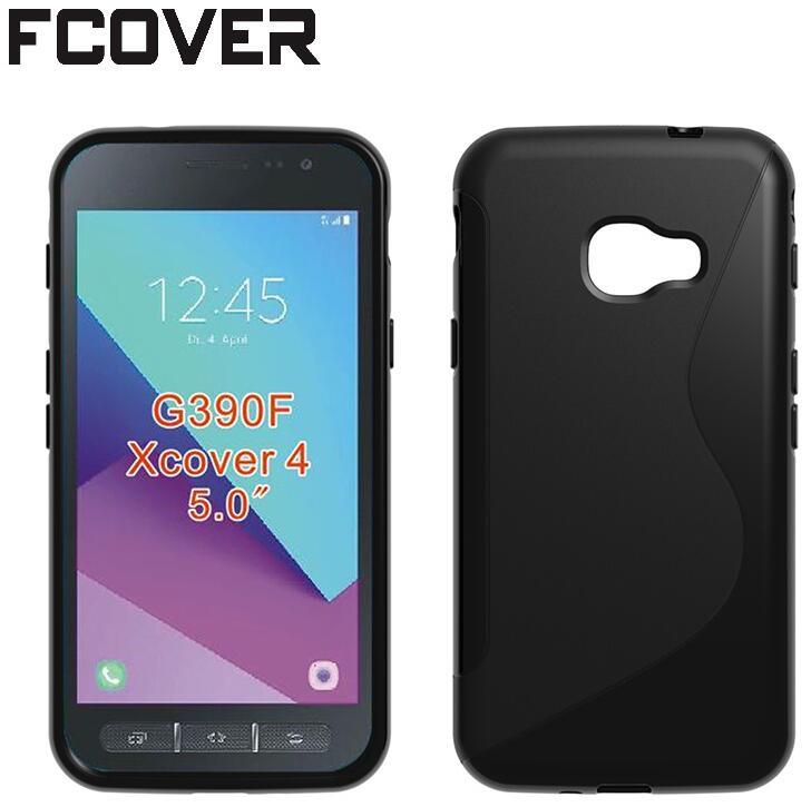 Coque de téléphone en silicone pour Samsung Galaxy XCover 4 4s, étui de Protection en Gel TPU, coque arrière souple
