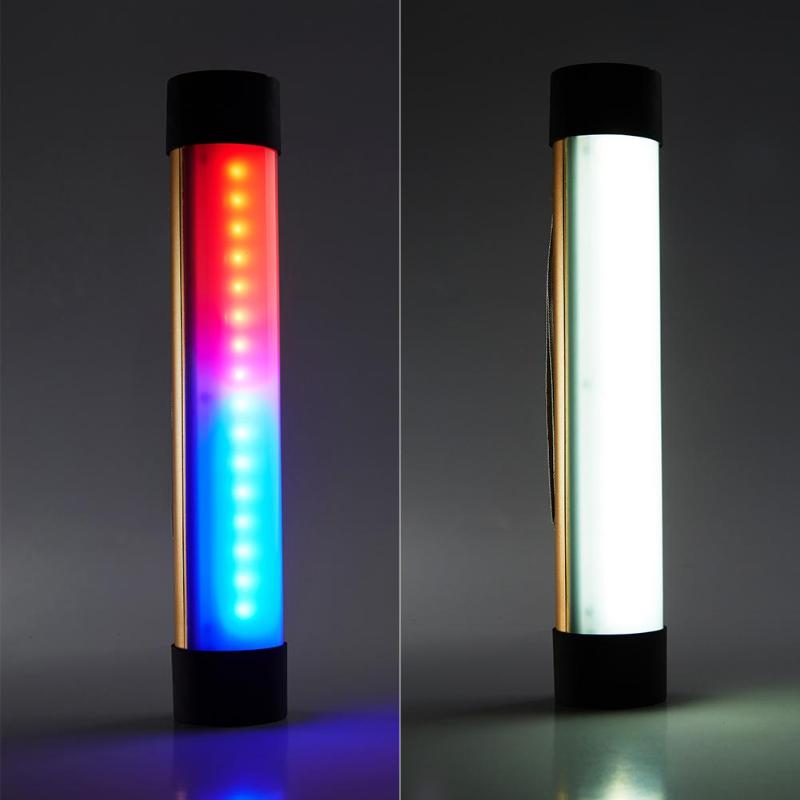 Portable 33 LEDs Flashlight USB Rechargeable Outdoor Emergency Lamp Camping Tent Light Blue Red Flash Lighting