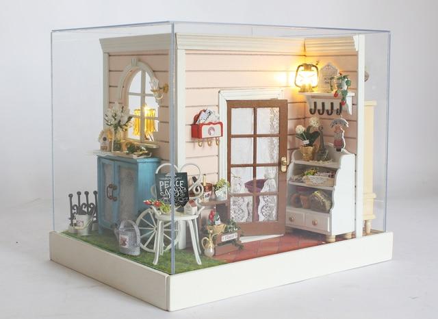 Leuke kamer leuke miniatuur model building kits d handgemaakte