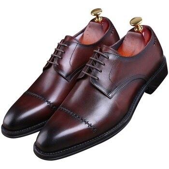 Welt a para Forme el zapatos marrón hombre Goodyear tanNegro TXvaZxw