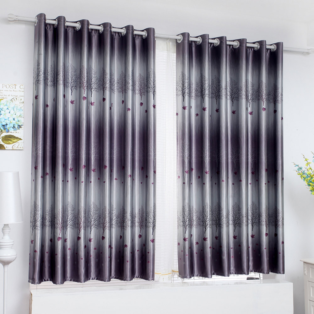 20 models of Modern full blackout curtains thick short for Living ...