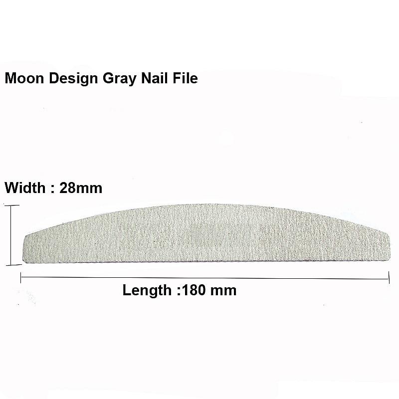 50 X Nail File Tools Professional Polish Sandpaper Buffing Nail Files Unha Limas Para Manicure Ongle 100/180 Unha Tool