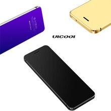 Ограниченное предложение Горячие ulcool V36 телефон с супер мини ультратонких карты из металла Средства ухода за кожей Bluetooth 2.0 dialer анти-потерянный FM MP3 двойной сим-карты мини телефон
