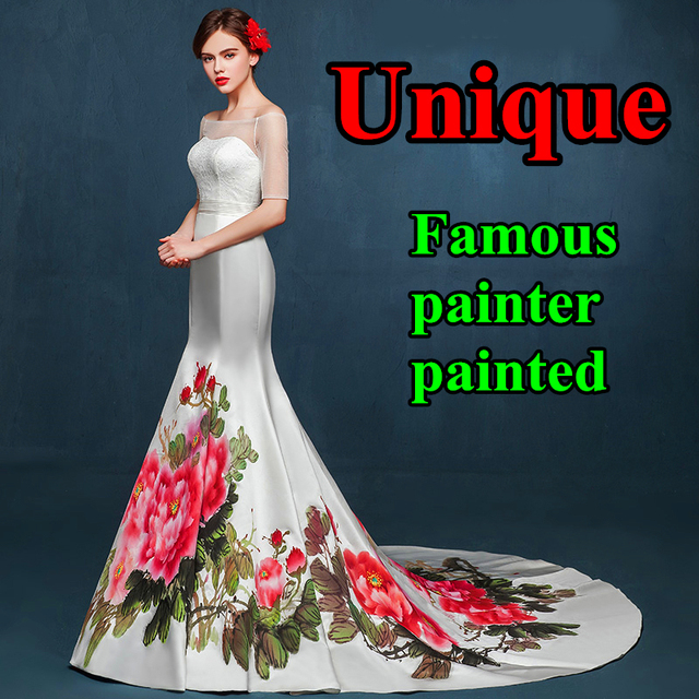 Prom Dress Painting