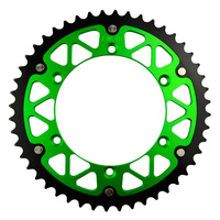 48T High Performance Motorcycle Steel Aluminum Composite Rear Sprocket For KAWASAKI KX450F KX450 F 2007 2014