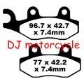 Most Popular Disc Brake Pad For Suzuki Dirt Bike  140cc Pit Bike Brake Shoes CRF50 KLX110 SSR SDG Taotao Jaja ATV