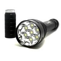 Trustfire TR J18 손전등 5 모드 8000 루멘 7 x 크리 어 xm l t6 led 18650 또는 26650 배터리 방수 높은 전원 토치|high power torch|flashlight 5 modexm-l t6 -