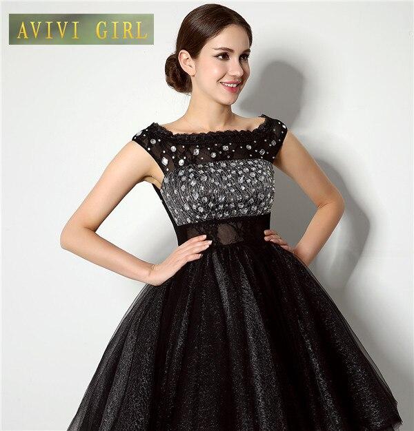 Aliexpress.com : Buy Sexy Short Evening Dress Crystal Formal ...