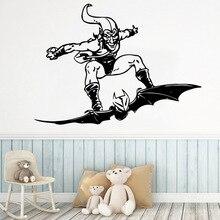 Batman Wall Stickers Vinyl Waterproof Decor For Living Room Bedroom Background Art Decal Drop Shipping