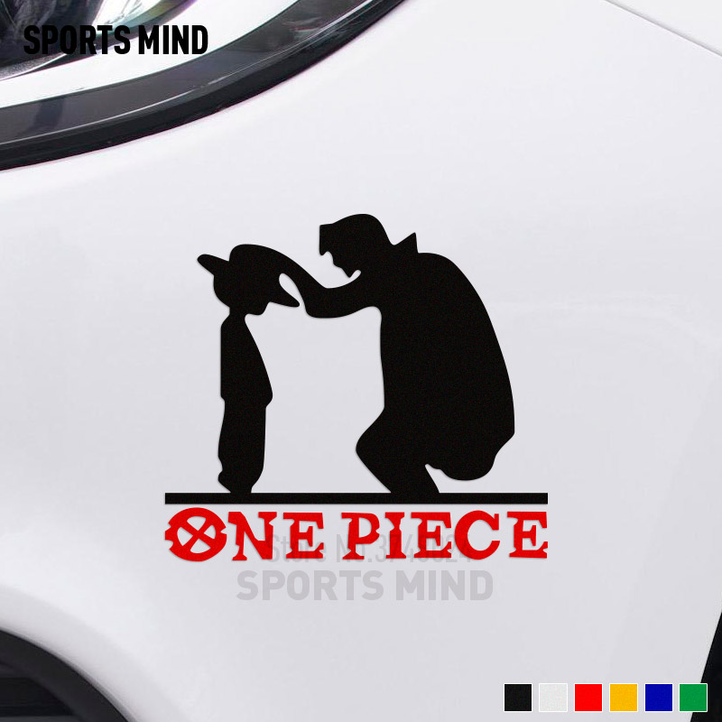 Customizable ONE PIECE Car Stickers Decal Car-styling For Ford Focus Toyota Honda Nissan Opel Peugeot Mazda BMW JDM Accessories