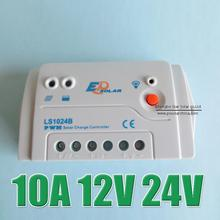 10A 12V 24V LS1024B Landstar Programmable Solar Panel Solar system Kit controller regulator