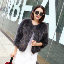 Topcoat Of Fur Natural Coat For Women Winter Season Haining Tops New Fox Dress Special Offer Raccoon Hai