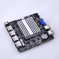 Free shipping low price mini itx 4 lan wIntel I211AT router motherboard with intel j1900 quad core onboard