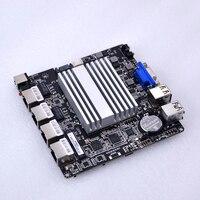Livraison gratuite bas prix mini itx 4 lan wIntel I211AT routeur carte mère avec intel j1900 quad core à bord