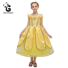 Girl Princess Dress Sleeping Beauty Kids Dresses for Girls Wedding Dress Pageant Ball Gowns for Prom Party Evening Dresses princess fluffy dress for girls pageant dress floral kids evening ball gown long girls prom dress pink party dress for girls