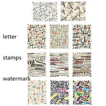 Fashionable Water Transfer Manicure Stamp Poster Letters Manicure Nail Sticker 1-11# Women's Beauty Nail Tools Free Shipping