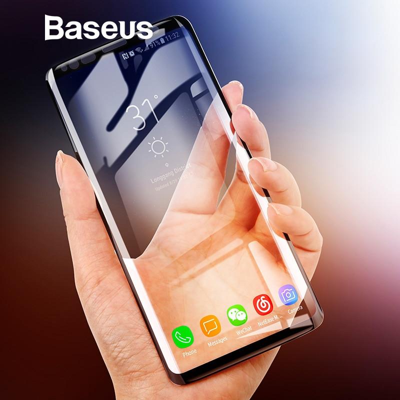 Baseus 3D Oberfläche Screen Protector Für Samsung Galaxy S9 S9 + Ultra Dünne Volle Abdeckung Aus Gehärtetem Glas Für Samsung S9 s9 Plus