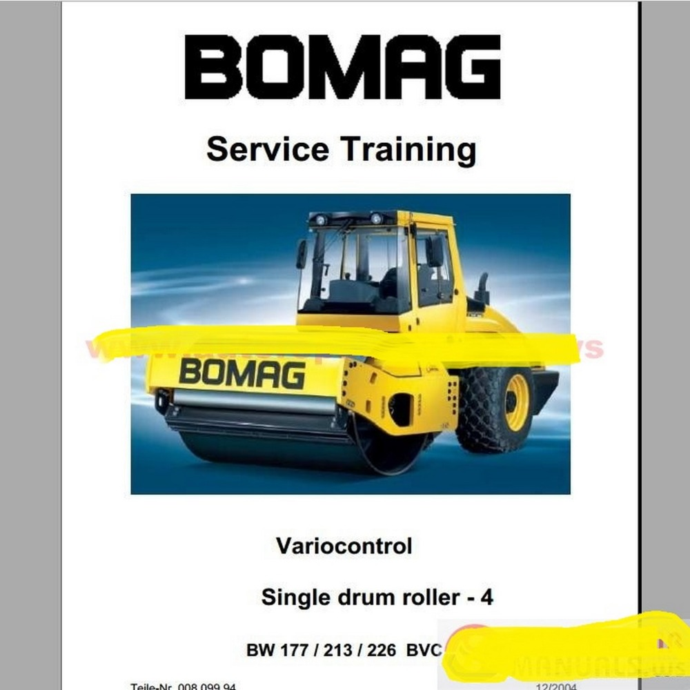 Bomag Full Set Service Manuals Trainning: Bomag Bw100ad 3 Wiring Diagram At Gundyle.co