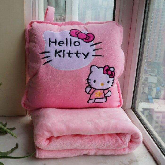 Coxim é sierran cobertor travesseiro de carro colcha dupla grande ar condicionado cobertor cama almofada