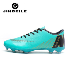 2019 Summer Men Football Boots New Low Black Zapatos De Futbol Sneakers Outdoor Sport Best Quality Soccer Shoe For Kids