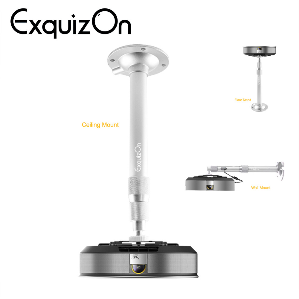 Adjustable 360 Degree Portable Projector Table Tripod Wall