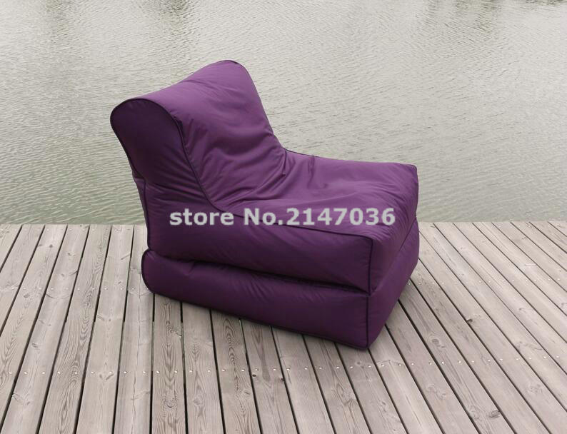 Faux polyester Outdoor Giant Folding Fashionable Bean Bag chair living room beanbag sofa recliner