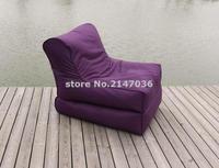 Sahte polyester Açık Dev Katlanır Şık Fasulye Torbası sandalye, oturma odası puf koltuk recliner