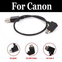 Usb-кабель для передачи данных линии контроллер телефонный кабель для пульта дистанционного управления для PowerShot A490 A495 A520 A610 A630 A640 A710 является A800 A810 D20 D30