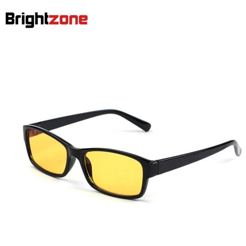 Jauns ierašanās vīriešu sieviešu pretradiācijas / UV / noguruma / zilās gaismas bloķēšanas dators / spēļu acu brilles dzeltens iekštelpu digitālās brilles
