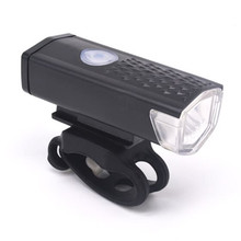 Cycling Bicycle Bike Headlights Safety Warning LED Flashing Light Rechargeable