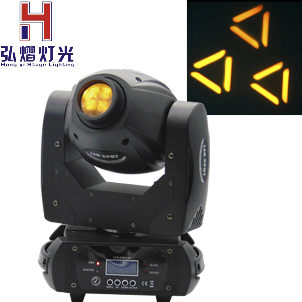 (1 pieces/lot) 60W moving head led spot 60W 3-facet high quanlity glass prism moving led Color/Gobo Built In DMX 10/12CH(1 pieces/lot) 60W moving head led spot 60W 3-facet high quanlity glass prism moving led Color/Gobo Built In DMX 10/12CH