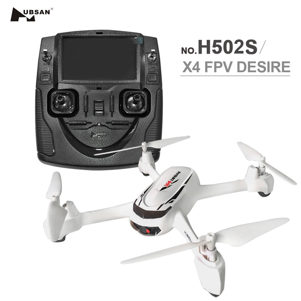 Hubsan X4 H502S RC Quadcopter 5.8G FPV GPS Altitude RC Drone With 720P HD Camera One Key Return Headless Mode Auto Positioning wltoys v686g 4ch 5 8g fpv real time transmission 2 4g rc quadcopter with 2 0mp camera headless mode auto return function us plug