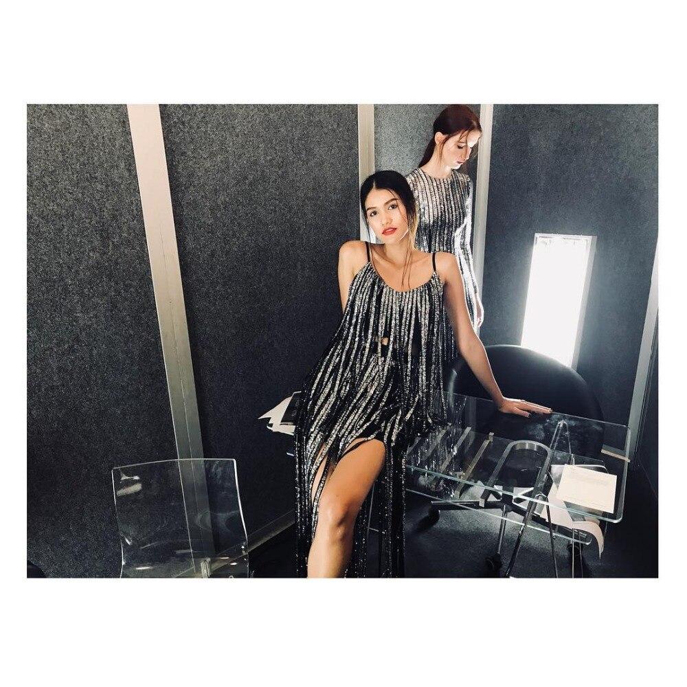 Noir Sexy Club Courroie 2018 Gland Robes Nouvelle Spaghetti Arrivée De Soirée Bandage Celebrity Parti Robe Femmes 5zqgw4Ux