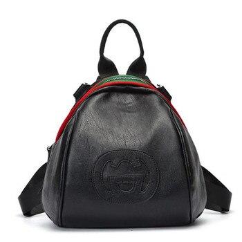 ceba541a6 Caca nueva marca famosa marca de calidad bolso de cuero pequeña Mochila  mochilas bolsos de hombro bolsas de cosméticos Mochila FR396
