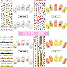 Nail Stickers on Nails Bling Art For Owl Eyes Water Transfer Decals DIY Manicur