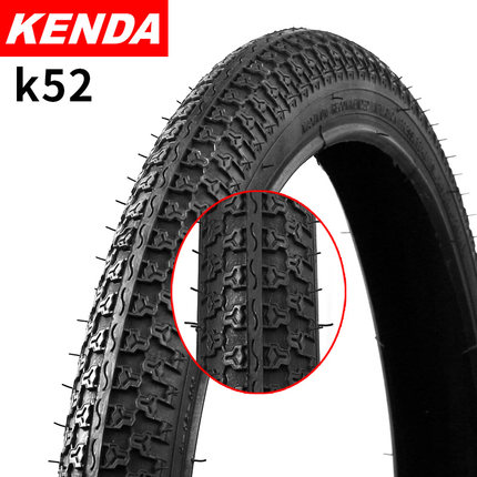 KENDA K52 Bicycle Tire 20 / <font><b>24</b></font> / 26*1.75 / 2.125 Ultralight <font><b>BMX</b></font> MTB Mountain Bike Tire Folding Bike Tyres Bicicleta Pneu image