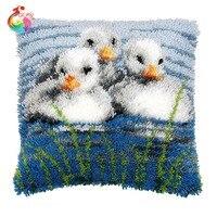 Tappeto DIY Kit Cucito Incompiuto Uncinetto Tappeto Filato Cuscino Ricamo Tappeto fai da te kit tappetino tappeto tappeto rotondo colore