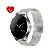 Original K88H Smart Uhr MTK2502 Bluetooth4.0 Smartwatch Unterstützung Pulsmesser Wasserdicht Armbanduhr Für IOS Android