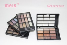 MEIS Brand Makeup Cosmetics Professional Makeup 12 Colors Eye Shadow Eyeshadow Palette Glitter Eyeshadow Eyeshadow Palette MS022