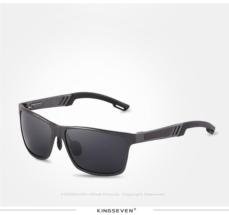2017 New KINGSEVEN Polarized Sunglasses Men Brand Designer Male Vintage Sun Glasses Eyewear gafas oculos de sol masculino N7180 8
