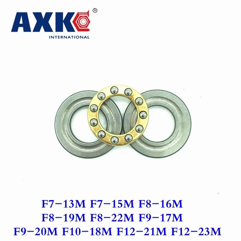 Ball Bearing Axk Free Shipping 10pcs F7-13m F7-15m F8-16m F8-19m F8-22m F9-17m F9-20m F10-18m F12-21m F12-23m Thrust Bearings пакет феникс бумажный с глиттером цветочные марки 17 8 22 9 9 8см 40872
