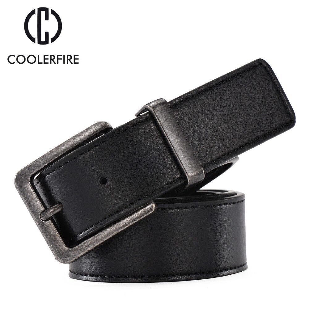 100% peau de vache véritable ceintures en cuir pour hommes cowboy bracelet  De Luxe marque mâle vintage large jeans designer ceinture hommes de haute  qualité 1872dc0cd9a