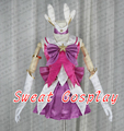 LOL Star Guardian Lux cosplay costume for girls Custom made