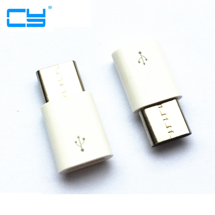 Mini Micro USB female to Type c male Type-C Cable Adapter Charger Data Sync USB-C Converter for Xiaomi Mi 5 oneplus Letv huawei rp sma female to y type 2x ip 9 ms156 male splitter combiner cable pigtail rg316 one sma point 2 ms156 connector for lte yota