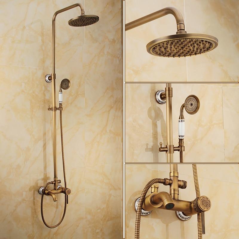 Best Quality Bathroom Outdoor Shower Mixer Set 8\