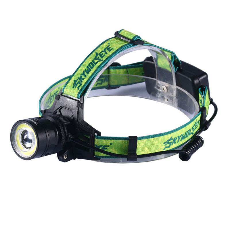 Flashlight on Bicycle Cycling Bike Head Front Light Bicycle Light XM-L +COB Headlamp Rechargeable Flashlight Head Light Lamp